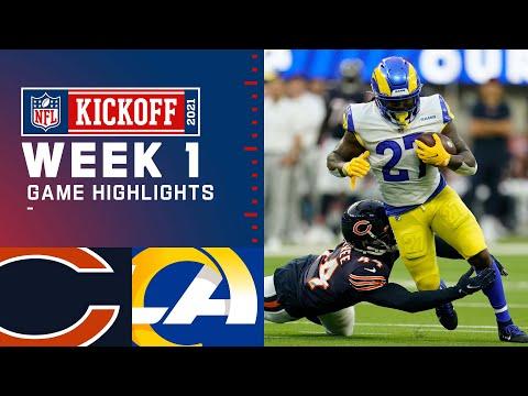 Bears vs. Rams Week 1 Highlights | NFL 2021