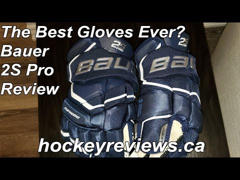 Bauer Supreme 2S Pro Hockey Glove Review