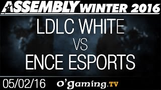 Ence Esports vs LDLC White - Assembly Winter 2016 - Group Stage