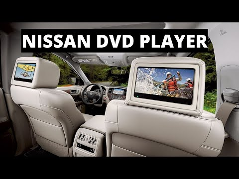 Nissan DVD Player Entertainment System | Set Up, Walk Through, How To | Video Game Connect