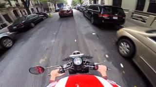 5. My ride into work, 7/14/2014. Vespa GTV 300ie.