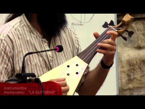 VÍDEO: Instrumentos musicales del medievo, la guiterna