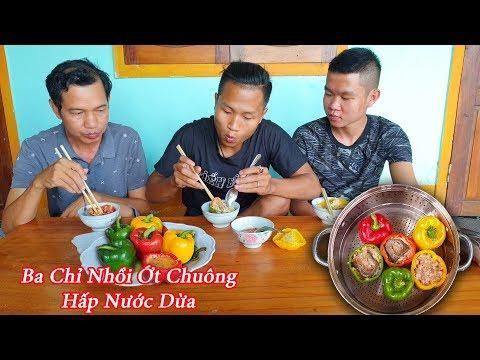 Black - Ớt Chuông Nhồi Thịt Ba Chỉ Hấp Nước Dừa ( Sêu Ngon ) - Thời lượng: 15 phút.