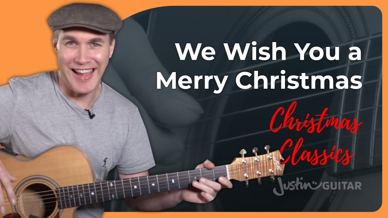 We Wish You A Merry Christmas – Guitar Chords For Beginners – Guitar Lesson [ST-112]