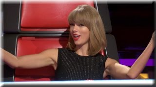 Video Taylor Swift | Dancing, Tall People & Lots of Taylors | The Voice Season 7 Knockout Rehearsals MP3, 3GP, MP4, WEBM, AVI, FLV Januari 2018