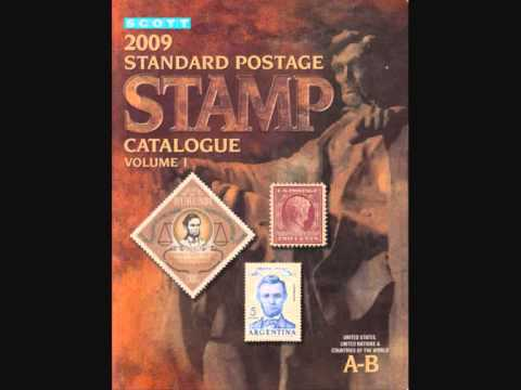 Scott Catalogue - http://www.giddz.com/scottstamps2009.html.