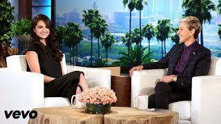 Video All interviews about Justin and Selena on Ellen Show MP3, 3GP, MP4, WEBM, AVI, FLV Juli 2018