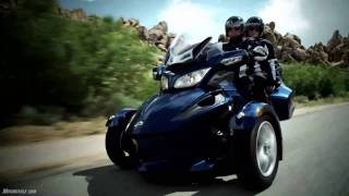 6. 2010 Can-Am Spyder RT Model Intro - A different beast rides a different line