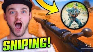 Battlefield 1 SNIPER GAMEPLAY! - (BF1 Sniping Multiplayer Gameplay)