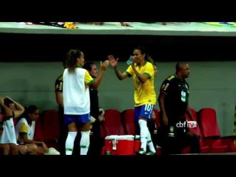 Alagoana Marta faz tr�s gols e Brasil vence os EUA de virada: 3 a 2