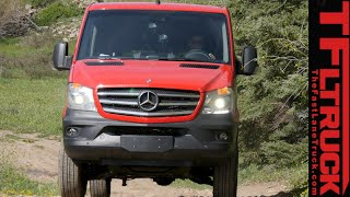 Video 2015 Mercedes-Benz Sprinter 4X4 Van Off & On-Road Review MP3, 3GP, MP4, WEBM, AVI, FLV Agustus 2018