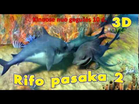 RIFO PASAKA 3D / Reef 2: High Tide (TV spot)