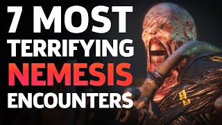The 7 Most Terrifying Nemesis Encounters - Resident Evil 3 Remake by GameSpot
