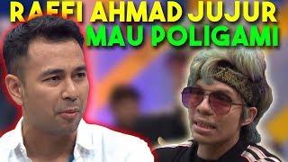 Video RAFI AHMAD JUJUR MAU POLIGAMI !!!!!!!!! 😱😱 |  WOW BANGET (19/03/19) PART 2 MP3, 3GP, MP4, WEBM, AVI, FLV Maret 2019
