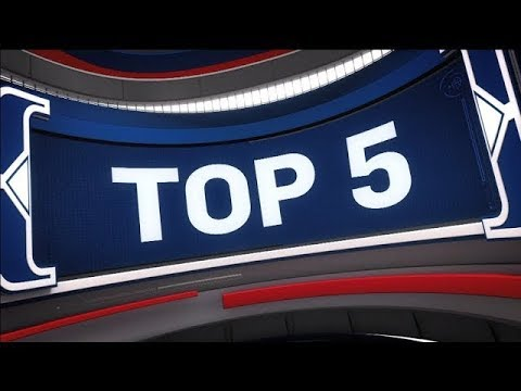 Top 5 Plays of the Night | January 18, 2018 (видео)