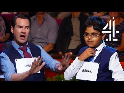"""Jimmy Carr """"I'm Going To Try And Make The Kids Cry""""   Child Genius vs Celebrities Christmas Special"""