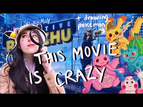 Detective Pikachu is absolutely insane