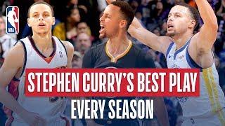 Video Stephen Curry's Best Play of Every Season MP3, 3GP, MP4, WEBM, AVI, FLV Juni 2019