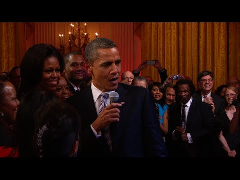 President Obama proved on 'Late Night' that he could make student loans interesting when he slow jammed the news. From singing Al Green to capturing Osama bin Laden, here's a list of Obama's most badass moments.