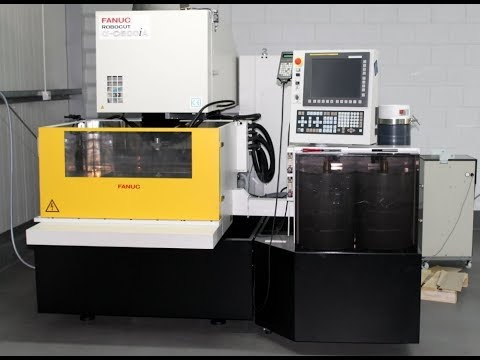 Wire Electrical Discharge Machine Fanuc ROBOCUT ALPHA C600IA 2016