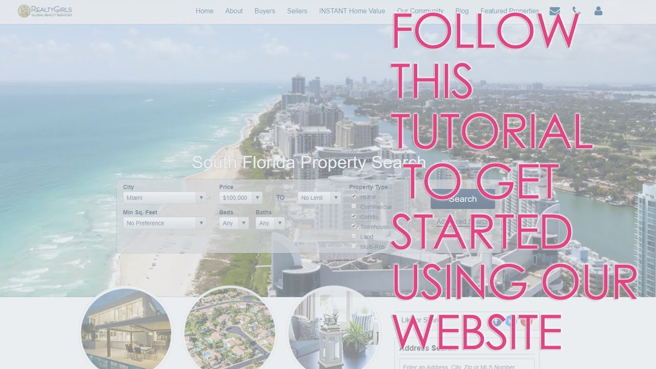Let Our Website Be a Real Estate Resource for You