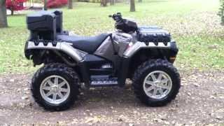 10. Like new 2012 Polaris Sportsman 550 eps 4x4