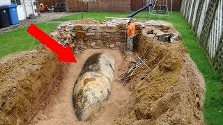 Video STRANGEST Things People Found In Their Backyard! MP3, 3GP, MP4, WEBM, AVI, FLV Juni 2019
