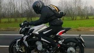 9. 2014 MV Agusta Drag 800 ♧ First rider