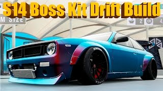 Forza Horizon 3 NEW DLC Silvia S14 BOSS KIT Widebody Drift Build