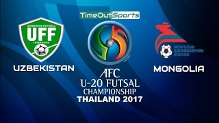 Video Uzbekistan vs Mongolia (10-7) Highlights | AFC U20 Futsal Championship 2017 MP3, 3GP, MP4, WEBM, AVI, FLV Mei 2017