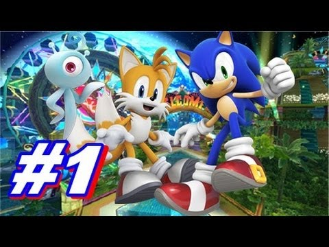 Let's Play Sonic Colors Wii Walkthrough - Part 1