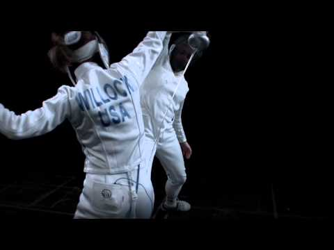 fencing - Behind the bullet, the tip of a fencing blade is the second fastest-moving object in Olympic sports. Speed of Fencing captures the grace and movements of New...