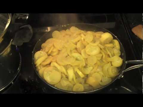 Fried Squash N' Onions * Southern Style