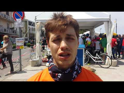 Alessio Calabrese vincitore della medio fondo