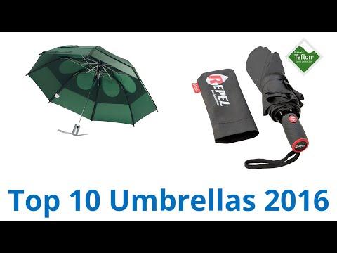 10 Best Umbrellas 2016