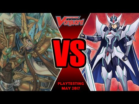 Blaster Exceed Vs Garmore - Cardfight Vanguard Playtesting May 2017