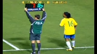 Video The Day Ronaldinho Substituted & Changed The Game MP3, 3GP, MP4, WEBM, AVI, FLV Juli 2019