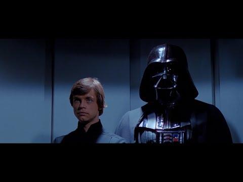 Death Star elevator scene (needlessly extended)