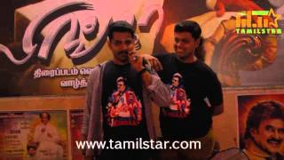 Lingaa Release Celebration at Kasi Theatre