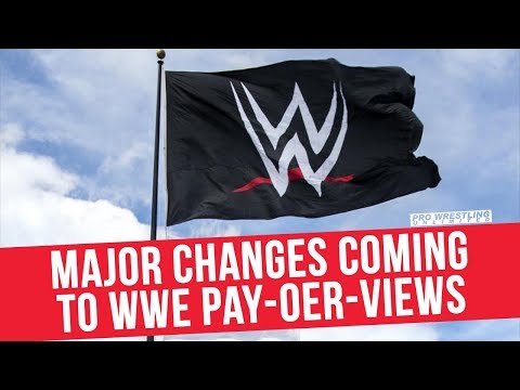 Major Changes Coming To WWE Pay-Per-Views