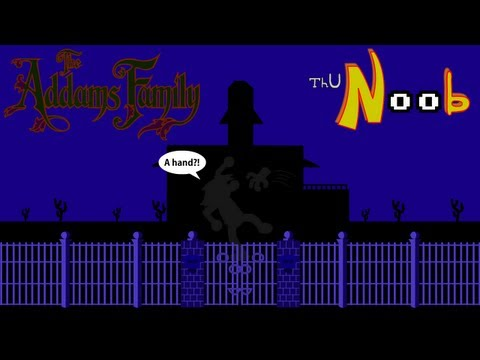 the addams family nes rom