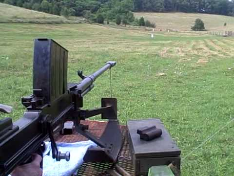 20mm - Fireing the 20mm lahti Anti tank gun at some Bowling balls 300- 500 yards out , This gun was effectively used against the