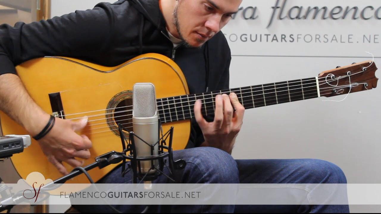 VIDEO TEST: Hermanos Conde A26 2000 flamenco guitar for sale