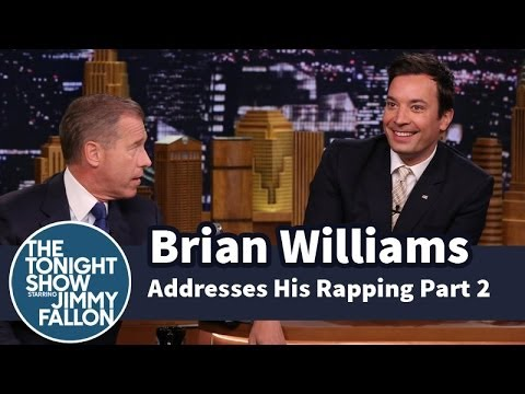 brian - NBC Nightly News managing editor and anchor Brian Williams talks to Jimmy about life after the world discovered his rapping abilities. Subscribe NOW to The T...