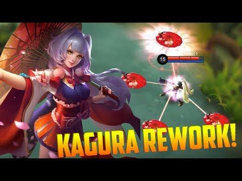 Wallpaper Hero Mobile Legend Hd Kagura Many Hd Wallpaper