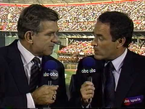 worldseries - So what does it take to shut Tim McCarver up? An earthquake.