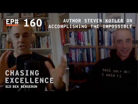 "Steven Kotler, author of ""Art of Impossible"" 