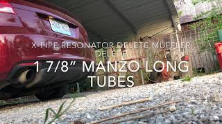 "Download Lagu 2009 G8 GT 1 7/8"" Manzo longtubes cold start Mp3"