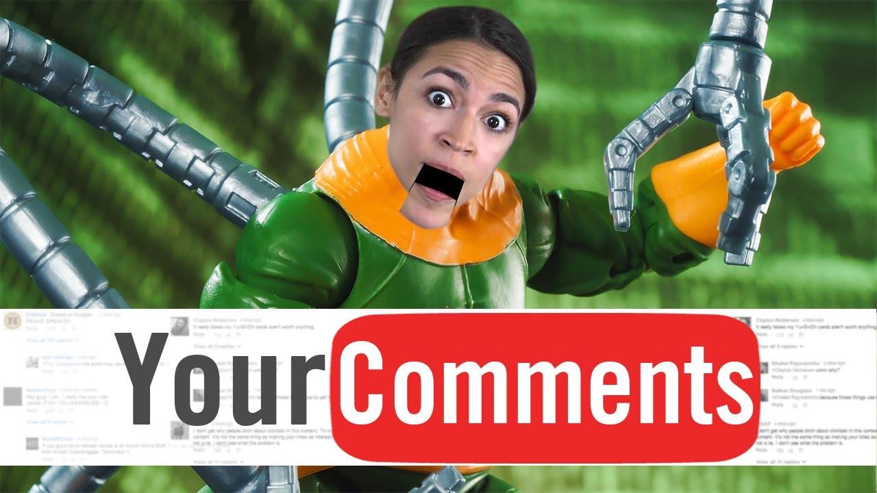Doc Ocasio-Cortez - Funhaus Comments #119 (Open Haus Edition) - YouTube