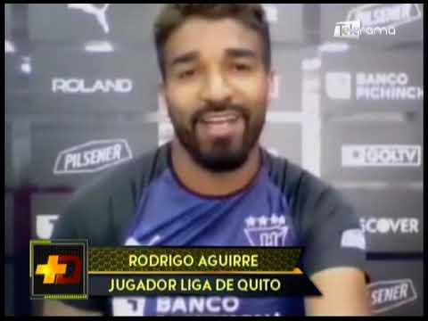 Rodrigo Aguirre seguirá en Liga de Quito